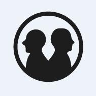 Logo de Équipe deux agents dans la ville
